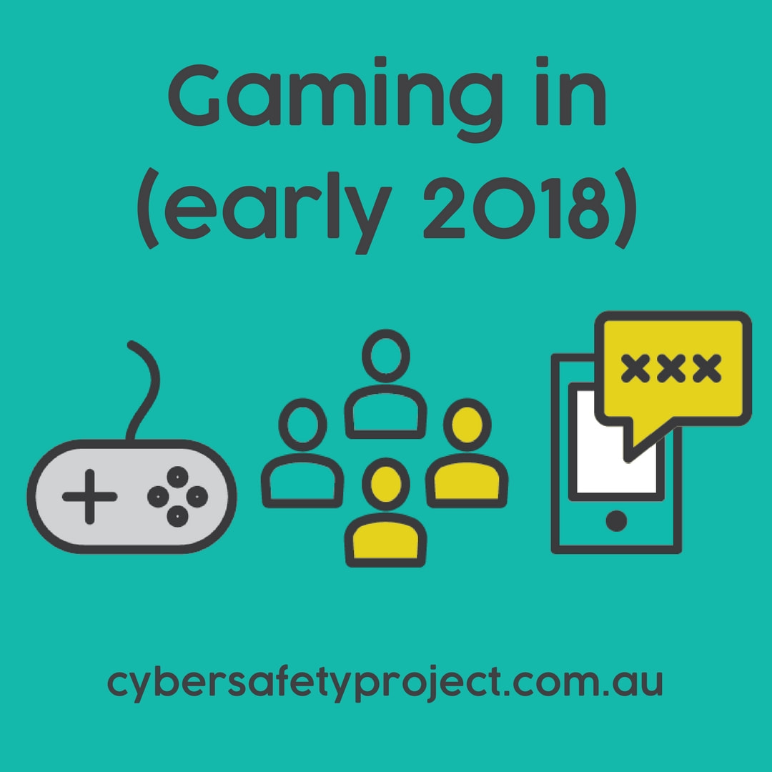 Gaming in (early) 2018: Minecraft, Fortnite, Roblox
